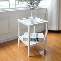 Kệ Gương Đa Năng Glass Shelf Nội Thất Kiểu Hàn BEYOURs - Trắng