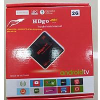 Tivi Box Android HDgo 4K Ram 2Gb Hàng chính hãng