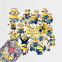 Minion - Set 30 sticker hình dán