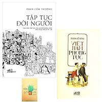 Combo Tập Tục Đời Người và Việt Nam Phong Tục ( Tặng Kèm Sổ Tay )