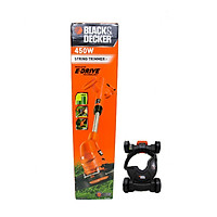 Combo Máy cắt cỏ cầm tay Black & Decker GL4525-B1 450W và Bánh xe máy cắt cỏ Black & Decker CM100-B1