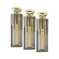 3x 9.1mm Plastic Empty Cosmetic DIY Lipstick Lip Moisturizer  Tubes Bottle