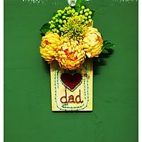 Tranh chỉ đinh treo tường - love dad - quà tặng bố