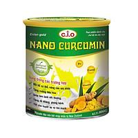 Thực phẩm chức năng sữa nghệ nano curcumin enlan gold 1 hộp thiêc 800gr