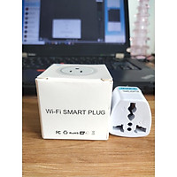 (Mẫu mới 2021)Ổ cắm wifi thông minh 10A US Tuya/Smartlife. Model 2021, Full chức năng