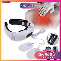 Máy Massage Vai Cổ Gáy Trị Liệu Cao Cấp - Máy Mát Xa Châm Cứu Xung Điện Từ Bấm Huyệt 3D Cho Mọi Lứa Tuổi