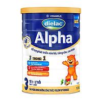 Sữa Bột Vinamilk Dielac Alpha Step 3 Hộp Thiếc (1500g)