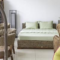Giường ngủ ATC Furniture gỗ lục bình WAIS-120