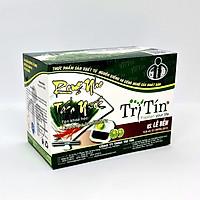 Rong Nho Tách Nước Trí Tín Premium - Hộp 200g 10 Gói - Trứng Cá Hồi Xanh