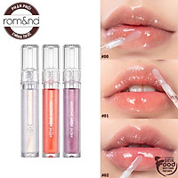 Son tint bóng cho đôi môi căng mọng Hàn Quốc Romand Glasting Water Gloss 4.5g