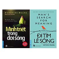 Combo Minh Triết Trong Đời Sống (Tái Bản) + Đi Tìm Lẽ Sống (2 cuốn)