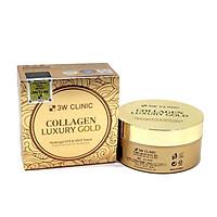 Mặt Nạ Mắt Tinh Chất Vàng 3W Clinic Collagen Luxury Gold tặng 2 mặt nạ Jant Blanc