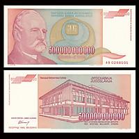 Tiền lạm phát của Nam Tư 500 tỷ dinara, quốc gia không còn tồn tại