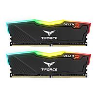 Ram TEAMGROUP Team T-Force Night Hawk RGB 16GB (2 x 8GB) DDR4 - 3000MHz LED 16,8 triệu màu, tản nhiệt nhôm - Hàng chính hãng