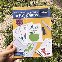 Thẻ Học Thông Minh Viết Và Xoá Được Nhiều Lần Mideer - Write And Wipe Activity Card