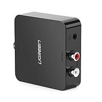 Bộ chuyển đổi âm thanh Digital ra Analog Audio Converter màu Đen UGREEN 30910 Hàng chính hãng