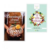 Combo Sách Nấu Ăn - Cai Đường Không Khó + Sourdough Bread - Bánh Mì Men Tự Nhiên - (Tặng Kèm Bookmark Happy Life)