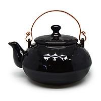 Ấm  trà chấm nhật Đông Gia - đen Tenmoku 47