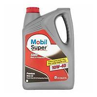 Nhớt Mobil super 10W40 (4.73 lít) - Nhớt Mobil nhập khẩu từ Mỹ