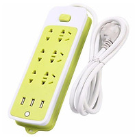 Ổ cắm điện đa năng chống giật với 3 cổng USB