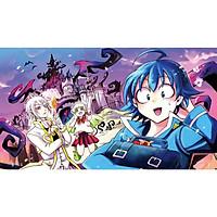 Poster 8 tấm A4 Mairimashita Iruma-kun! Iruma Giá Đáo anime tranh treo album ảnh in hình đẹp (MẪU GIAO NGẪU NHIÊN)