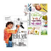Combo Tôi Vẽ - Phương Pháp Tự Học Vẽ Truyện Tranh Và Cầm Cọ Và Vẽ Nào!