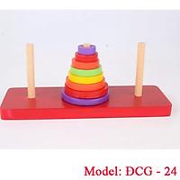 Bộ đồ chơi xếp tháp cột cờ Hà Nội
