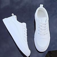 Giày Sneaker Nam Giày Thể Thao Thời Trang Udany Giày Nam Bassic Trắng Trơn Trẻ Trung Dễ Phối Đồ Ôm Chân Tuyệt Đẹp - EN019