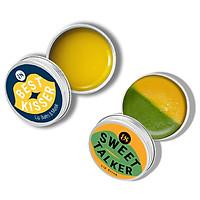 Combo son dưỡng không màu BareSoul Best Kisser Lip Balm & Mask 10g + Son tẩy tế bào chết Sweet Talker Lip Scrub 20g