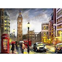 Tranh ghép hình 1000 mảnh 2cm khổ 54×74 – Tranh xếp hình Puzzle cao cấp London