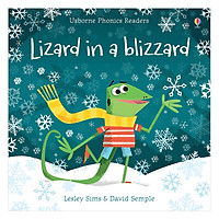 Usborne Phonics Readers: Lizard In A Blizzard