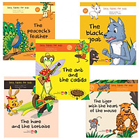 Combo 5 cuốn truyện ngụ ngôn bằng tiếng anh ( Best fables for kids )