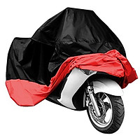 Motorcycle Cover Universal Nano Black + Silver Scooters UV Protector