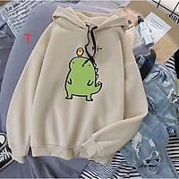 Áo hoodie khủng long có mũ, chất liệu nỉ cao cấp, freesize <60kg và 160cm, nhiều màu màu lựa chọn, hàng loại 1