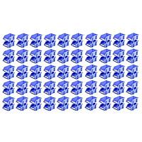 Combo 50 Kệ Dụng Cụ Nhỏ Duy Tân (12 x 8 cm) - Kệ nhựa đựng ốc vít, hàng hóa, đa năng, giúp sắp xếp gọn gàng đồ đạc