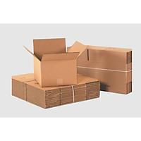 25x15x10 Combo 50 hộp carton trơn 3 lớp