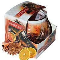 Ly nến thơm tinh dầu Admit Mulled Wine 85g QT04542 - cam, quế, hồi