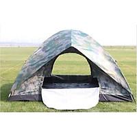 Lều cắm trại 2 lớp gọn nhẹ thoáng mát chống mưa tuyệt đối
