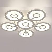 Đèn ốp trần LED tròn 6 cánh độc đáo