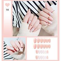Bộ 24 móng tay giả nail thơi trang như hình (S6)