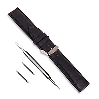 Dây đồng hồ da bò SAM Leather SAM009BW - Dây đeo đồng hồ bằng da cao cấp tương thích ( Apple 1,2,3,4,5 - Đồng Hồ cổ Điển - Các Loại Swatch )