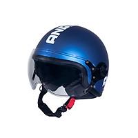 Mũ Bảo Hiểm Andes 3/4 Đầu Có Kính - 3S103DL Tem Nhám W127