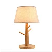 Đèn trang trí phòng ngủ để bàn - đèn ngủ để bàn - đèn ngủ gỗ - đèn ngủ Vintage LUCICIO