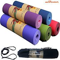 Thảm Yoga miDoctor + Bao Thảm Yoga (Giao màu ngẫu nhiên)
