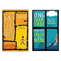 Combo 2 Cuốn : Cô Gái Mù Chữ Phá Bom Nguyên Tử + Ông Trăm Tuổi Trèo Qua Cửa Sổ Và Biến Mất (Tặng kèm Bookmark Happy Life / Bộ Sách Ăn Khách Nhất Của Jonas Jonasson )