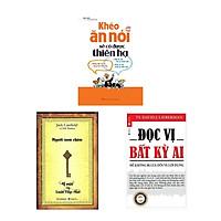 Combo Sách Nghệ Thuật Giao Tiếp Thành Công: Khéo Ăn Nói Sẽ Có Được Thiên Hạ ( Tái Bản ) + Người Nam Châm - Bí Mật Của Luật Hấp Dẫn (Tái Bản) + Đọc Vị Bất Kì Ai (Tái Bản)