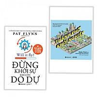 Combo 2 cuốn sách kinh tế tâm đắc: Thành Phố Khởi Nghiệp + Đừng Khởi Sự Khi Còn Do Dự ( Tặng kèm bookmark PĐ)