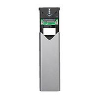 Box chuyển SSD M2 Sata sang ổ cứng di động SSK SHE-C320 chuẩn 3.0 - Hỗ trợ đến 5Gbps (xám)