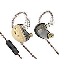 Tai nghe KZ AS12 - 12 Driver BA chất âm tuyệt hảo - có micro đàm thoại - Hàng chính hãng