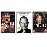 Combo Sách : Tiểu Sử Steve Jobs (Tái Bản 2020) + Bill Gates - Tham Vọng Lớn Lao Và Quá Trình Hình Thành Đế Chế Microsoft + Elon Musk - Tesla, SpaceX Và Sứ Mệnh Tìm Kiếm Một Tương Lai Ngoài Sức Tưởng Tượng